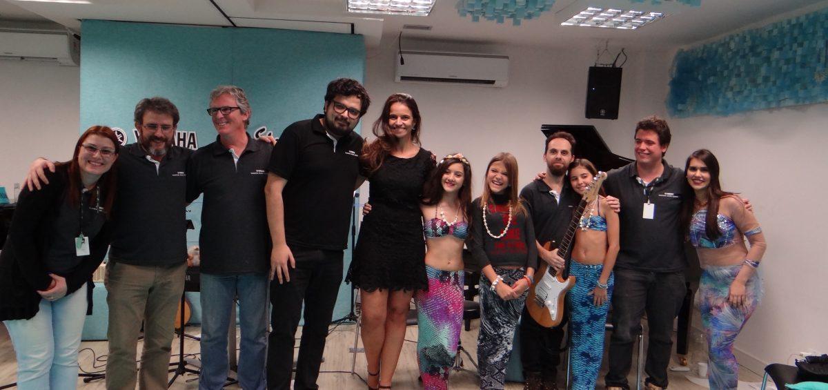 equipe yamaha music school brasil e sirenita
